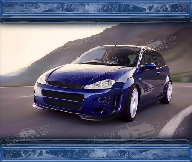 Ford Focus Mk1 Front Bumper Rs Style