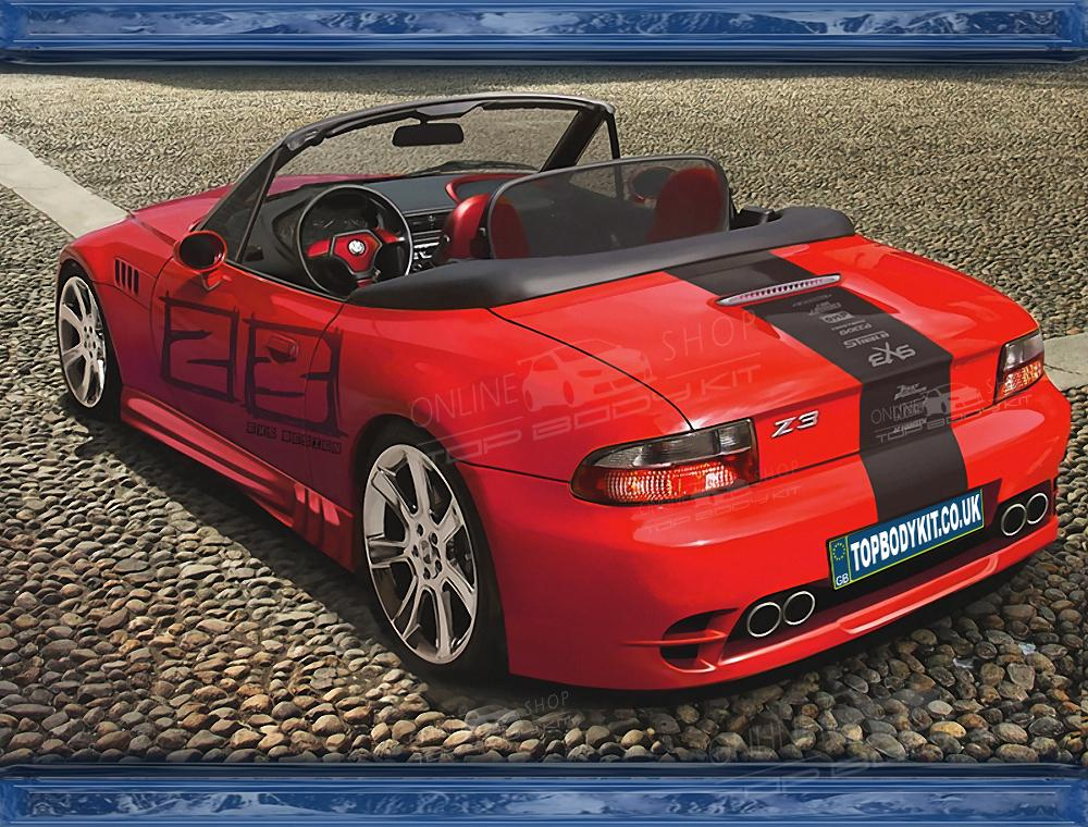 Bmw Z3 Rear Bumper
