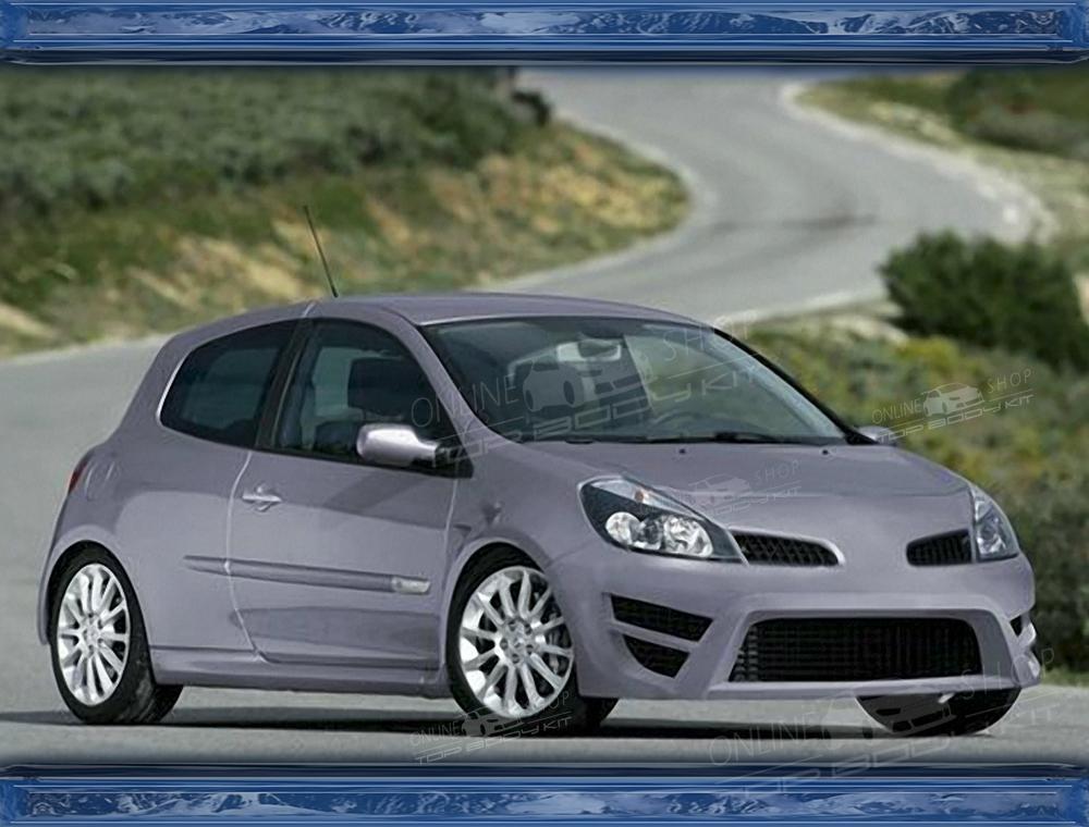 Renault clio mk3 front bumper publicscrutiny Images